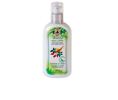 Body lotion with garden snail extract Golden Snail
