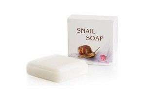 Soap with garden snail extract Golden Snail