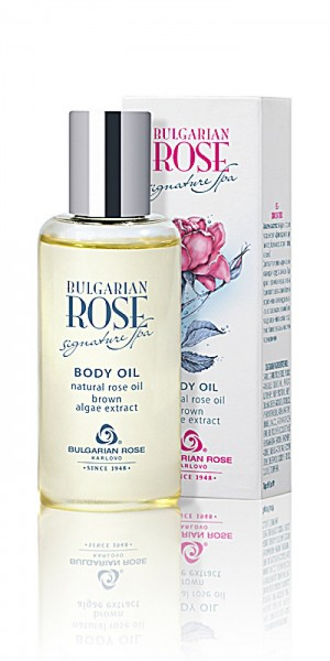Nourishing body oil with argan and rose oil Signature Spa Bulgarian Rose Karlovo