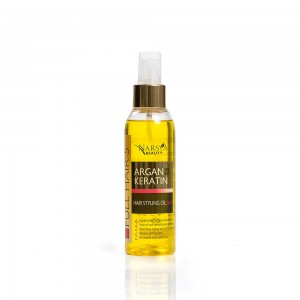 Hair styling oil argan&keratin Narsya Arsy Cosmetics
