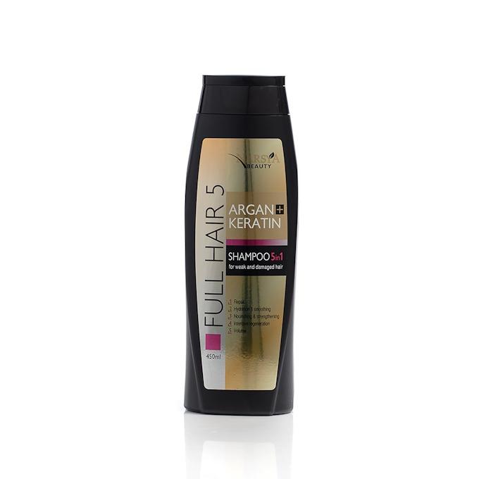 5 in 1 shampoo argan & keratin Narsya Arsy Cosmetics