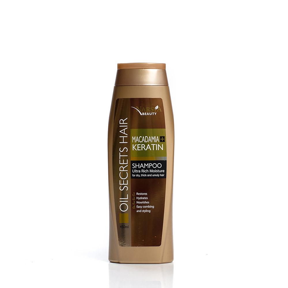 Shampoo macadamia & keratin Narsya Arsy Cosmetics