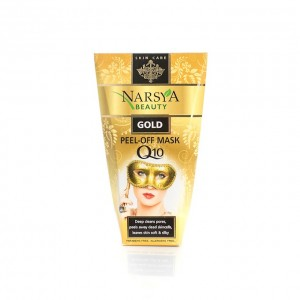 Golden anti-wrinkle peel-off facial mask Narsya Arsy Cosmetics
