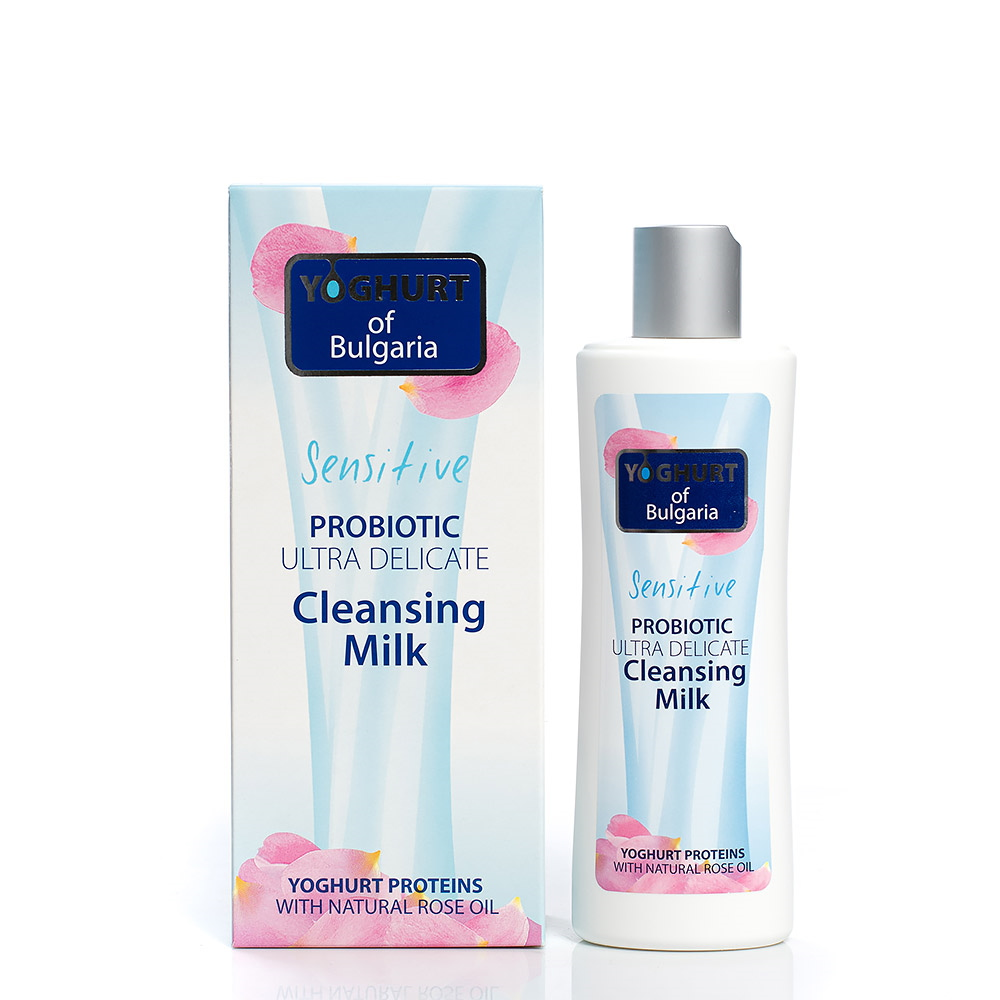 Probiotic ultra delicate cleansing milk for face Yoghurt of Bulgaria Biofresh