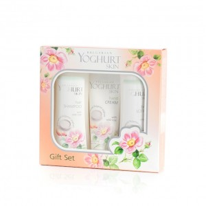 Lady's gift set Yoghurt and amaranth Arsy Cosmetics