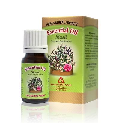 100% basil essential oil Bulgarian Rose Karlovo