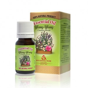 100% essential oil from ylang-ylang Bulgarian Rose Karlovo