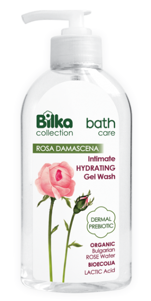 Moisturizing intimate gel with natural rose water Bilka Intimo Care