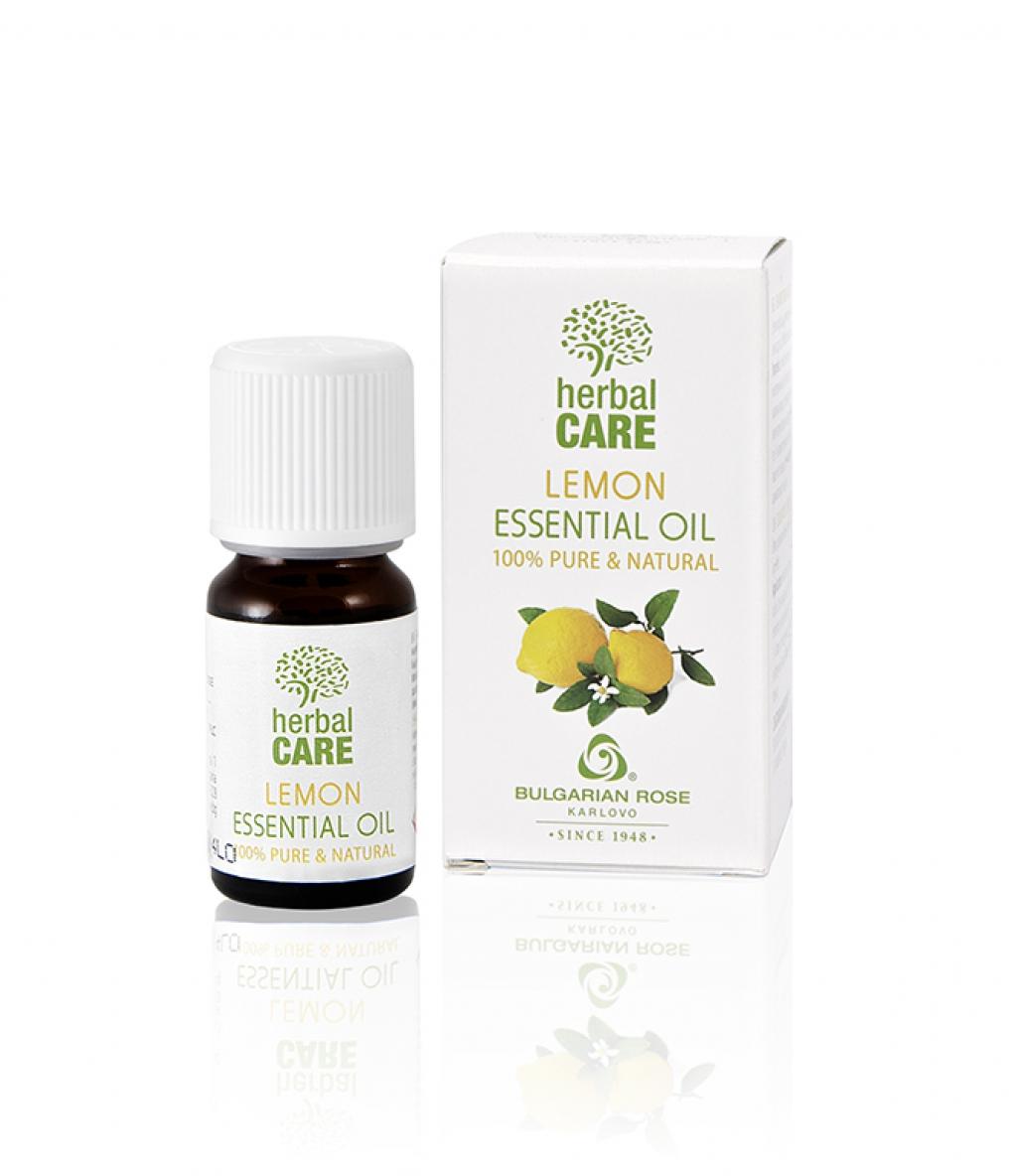 100% essential oil from lemon Bulgarian Rose Karlovo