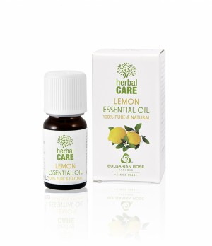 100% essential oil from lemon Bulgarian Rose Karlovo