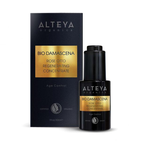 Био регенериращ серум за лице Bio Damascena Alteya Organics
