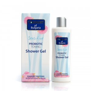 Probiotic toning shower gel Yoghurt of Bulgaria Biofresh