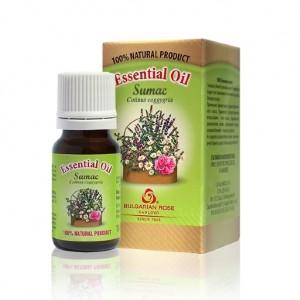 100% sumac essential oil Bulgarian Rose Karlovo