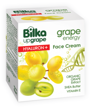 Hydrating face cream with intensive action Grape Energy Hyaluron+ Bilka
