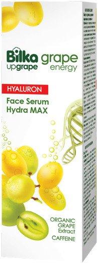 Хидратиращ серум за лице с хиалуронова киселина Bilka Grape Energy Hialuron +