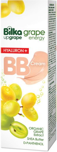 Moisturizing BB face cream Grape Energy Hyaluron+ Bilka