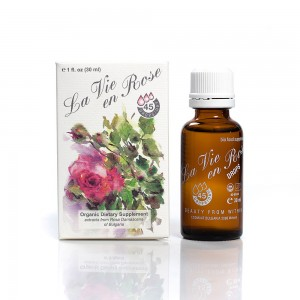 Organic dietary supplement drops La vie en Rose Ecomaat