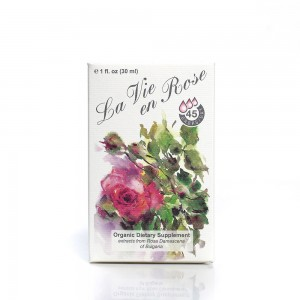 Organic dietary supplement drops La vie en Rose Ecomaat