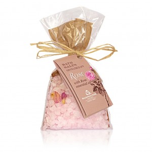 Bath salts with rose Spa and aromatherapy Bulgarian Rose Karlovo