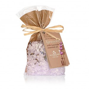Bath salts with lavender Spa and aromatherapy Bulgarian Rose Karlovo