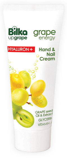 Moisturizing hand & nail cream Grape Energy Hyaluron+ Bilka