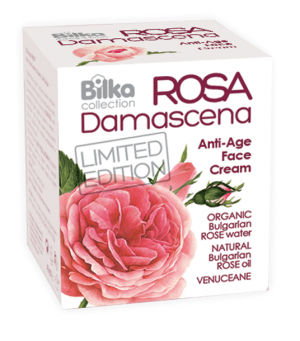 Rejuvenating anti-wrinkle cream with rose Bilka Rosa Damascena