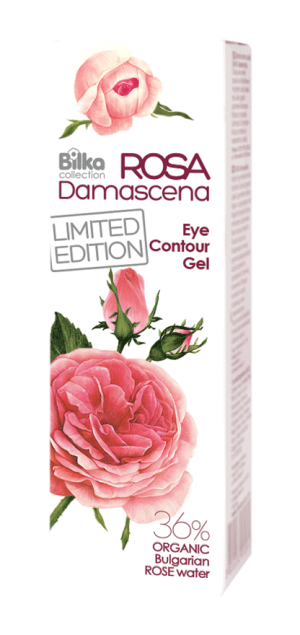 Eye contour gel with rose water Bilka Rosa Damascena
