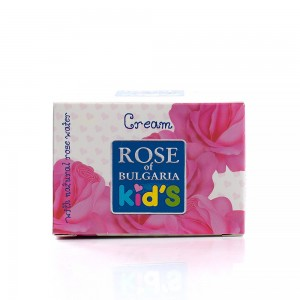 Children's cream with natural rose water Rose of Bulgaria For Kids Biofresh