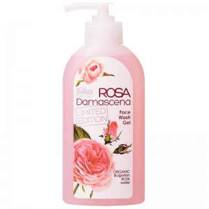 Cleansing facial gel with rose water  Rosa Damascena Bilka