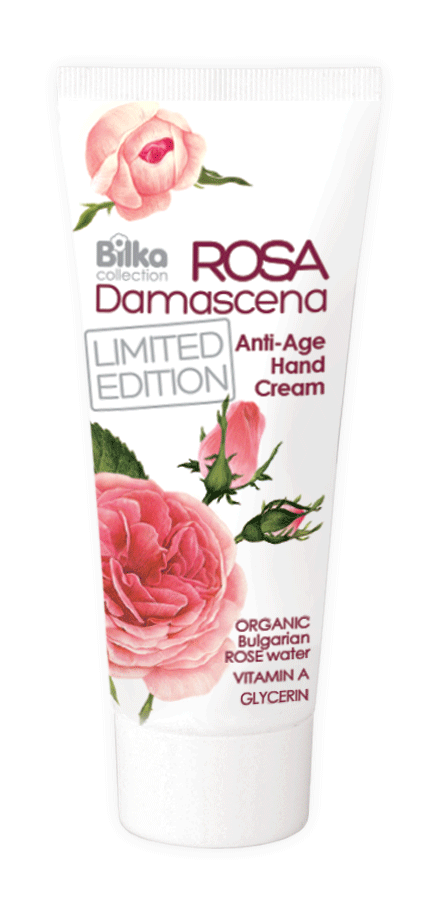 Protective hand cream with rejuvenating action Rosa Damascena Bilka