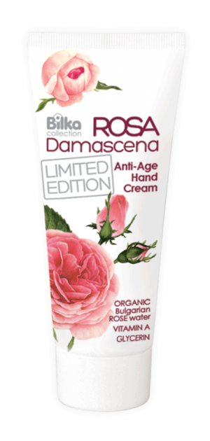Protective hand cream with rejuvenating action Rosa Damascena Bilka