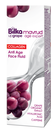 Rejuvenating face fluid with collagen and grape extract Bilka Mavrud Age Expert Collagen+