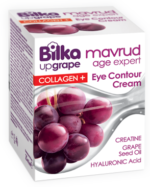 Anti-aging eye cream with collagen and grape extract Bilka Mavrud Age Expert Collagen+