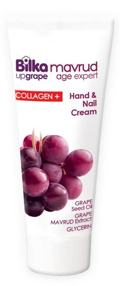 Hand and nail cream with anti-age formula Bilka Mavrud Age Expert Collagen +