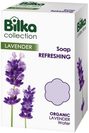 Gentle refreshing soap with lavender oil Bilka Bar Soaps