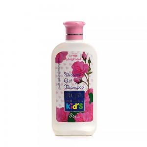 Детски душ гел и шампоан 2в1 Rose of Bulgaria For Kids Biofresh