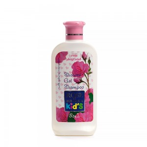 Children's shower gel and shampoo 2in1 Rose of Bulgaria For Kids Biofresh