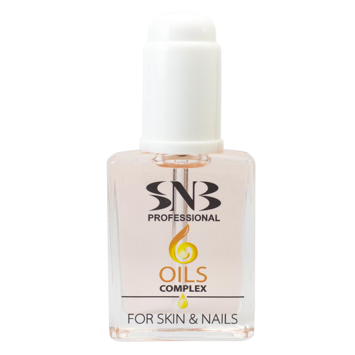 Комплекс от 6 масла за нокти, кожички и ръце SNB
