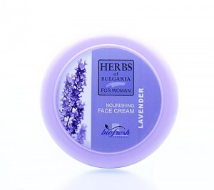 Hydrating face cream with lavender Herbs of Bulgaria Biofresh