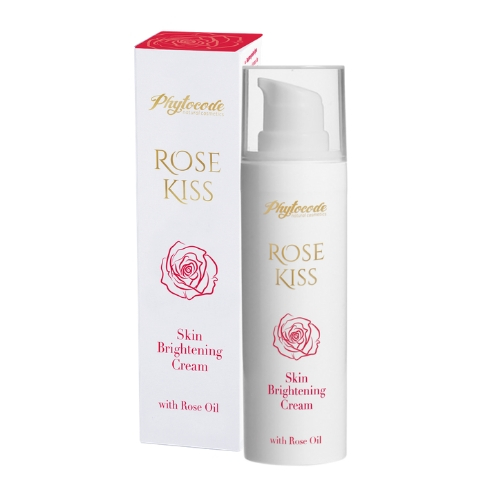 Skin brightening face cream Rose Kiss Phytocode