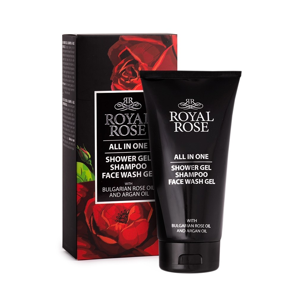 All in one shampoo, face and body wash for men Royal Rose