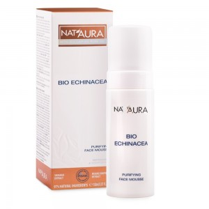 Purifying face mousse with bio echinacea Nat'Aura Biofresh