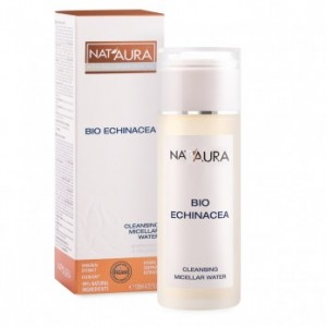 Facial cleansing micellar water with bio echinacea Nat'Aura Biofresh