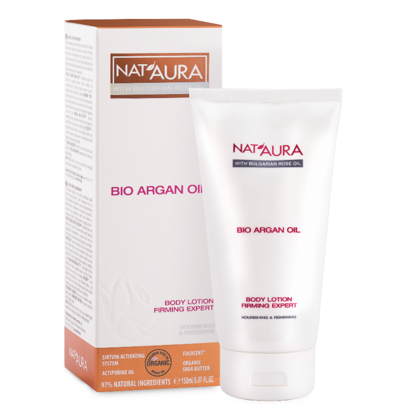 Body lotion firming expert with bio argan oil Nat'Aura Biofresh