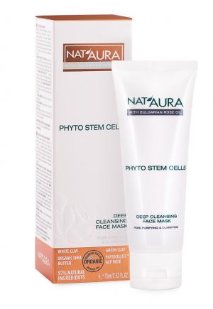 Дълбоко почистваща маска за лице Nat'Aura Biofresh