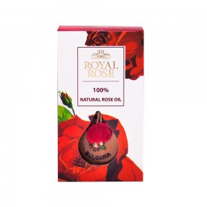 100% Natural Rose Oil Royal Rose Biofresh 0,5 ml.