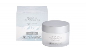 Night anti-age face cream Magic from the Antarctic sea Thalloderma