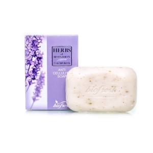 Anticellulite body soap with lavender extract Herbs of Bulgaria Biofresh