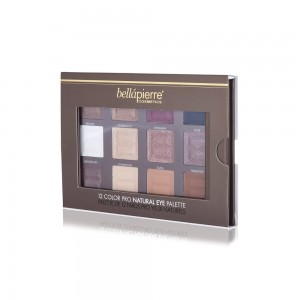 12 Color Pro Natural Eye Palette Bellapierre