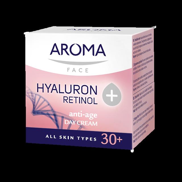 Day face cream Retinol+Hyaluron Aroma
